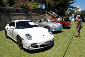 Porsche 997 and 356s