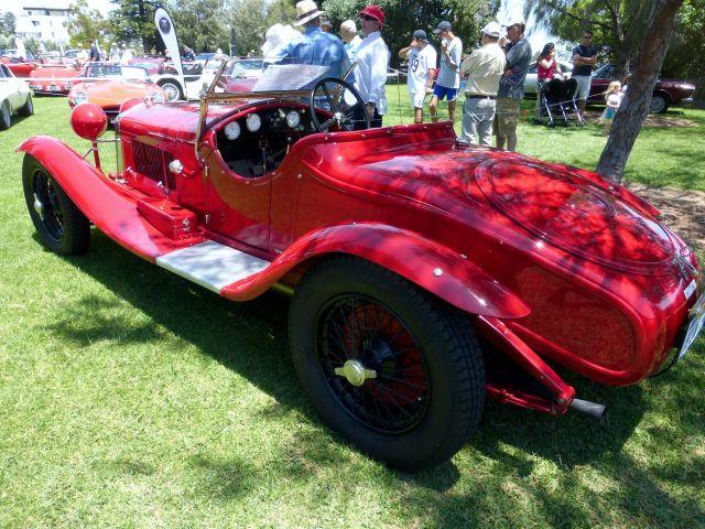 COTM15 Alfa 6C 1750 rear