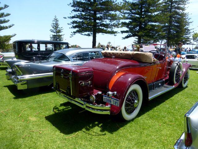 COTM15 Cadillac 1929 rear