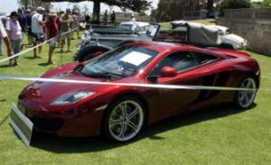 2013 Winner People's Choice Award The Peter & Robin Briggs Award 2012 McLaren MP4-12C