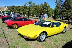 De Tomaso Pantera yellow