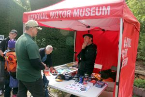 National Motor Museum tent