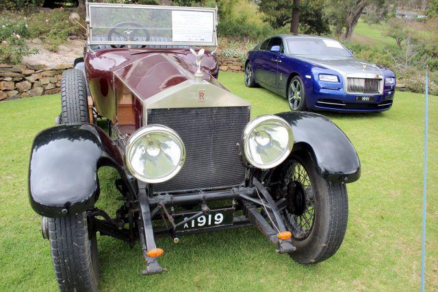 Rolls-Royce Silver Ghost & Wraith