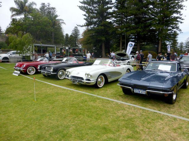 COTM17 Corvettes x 4