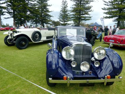 Bentley Coupe & Silver Ghost