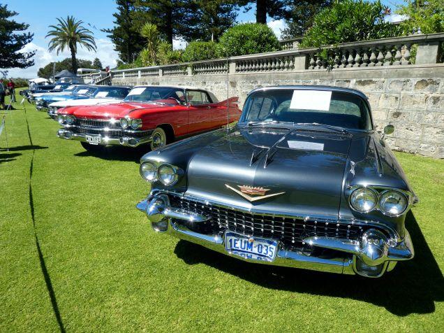 Cadillac row, 58 on