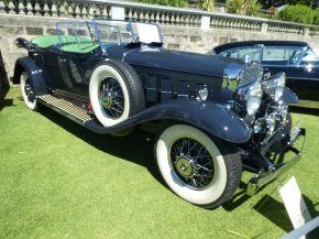 Cadillac V16 in sun